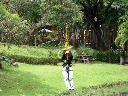 Fun Games, Flying Fox