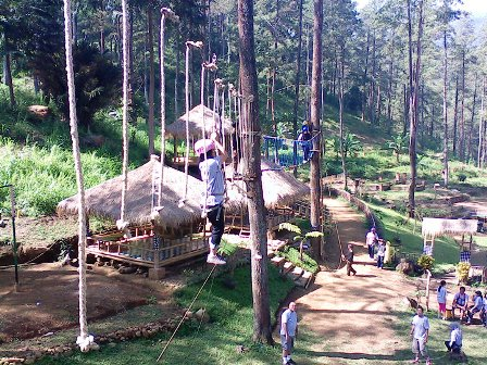 High Rope di Pacet