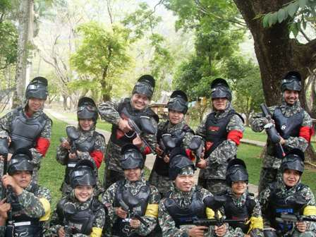 Paint Ball - Outbound di Pacet
